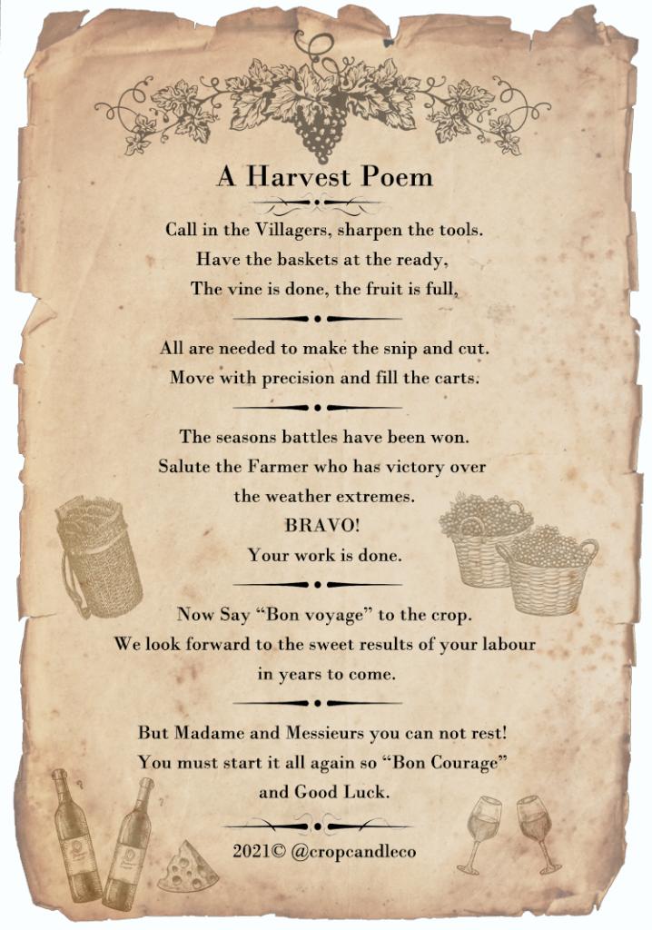 A Harvest Poem