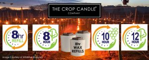 Crop Candle Anti Frost protection