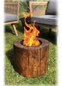 Crop Candle Smokeless Fire Pit