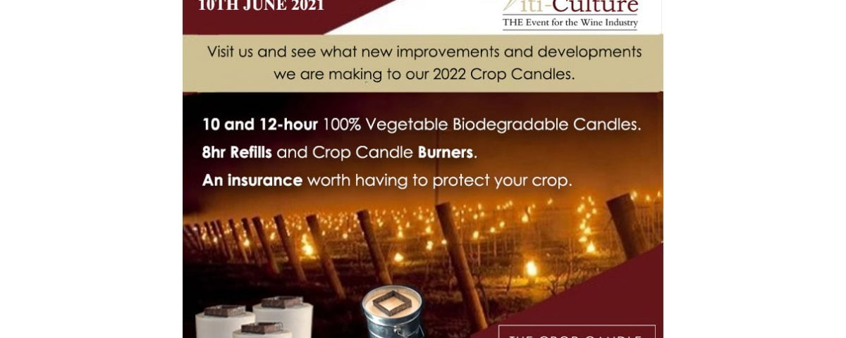 Crop candle bougies